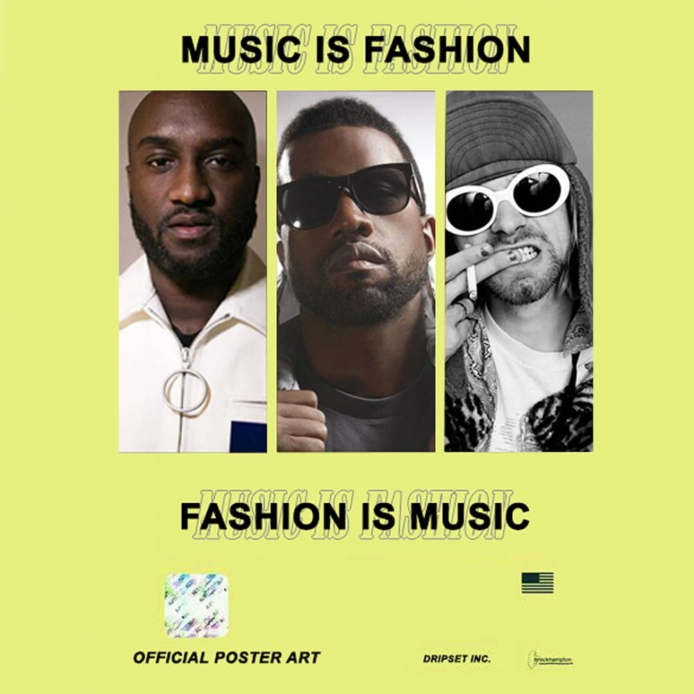 '' MUSIC IS FASHION, FASHION IS MUSIC ''